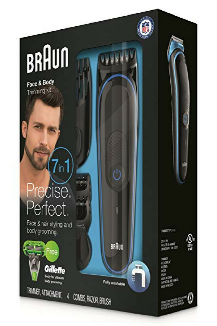 Braun Mgk3040 Men S Beard Trimmer For Hair Head Trimming Grooming