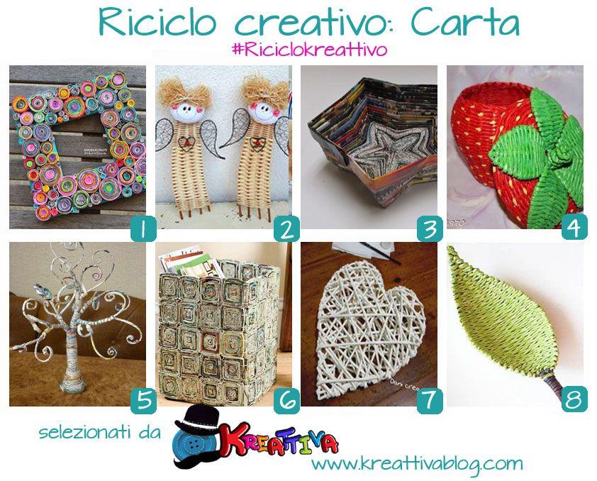 Kreattivablog: Operazione Riciclo: plastica, carta e vetro [raccolta]
