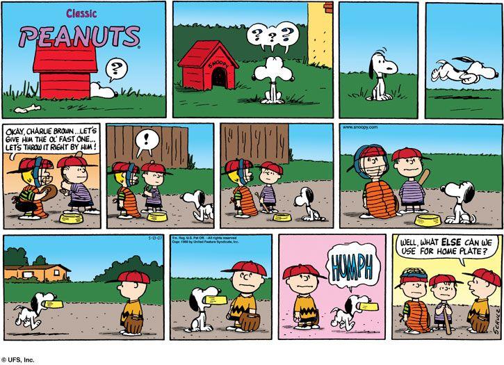 PeanutsSnoopy Comic Strip Kids Apron