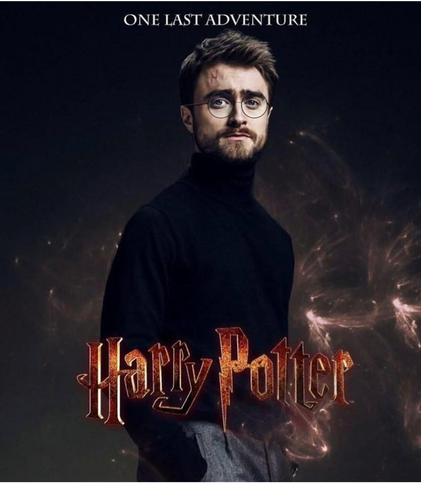 Harry Potter Sequel Graphic Edit In 2021 Daniel Radcliffe Harry Potter Sequel Harry James Potter