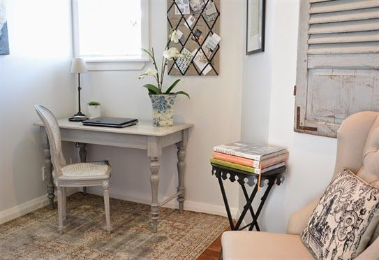 """Lee Caroline - A World of Inspiration: My French Style Home Office - """"The Reveal"""""""