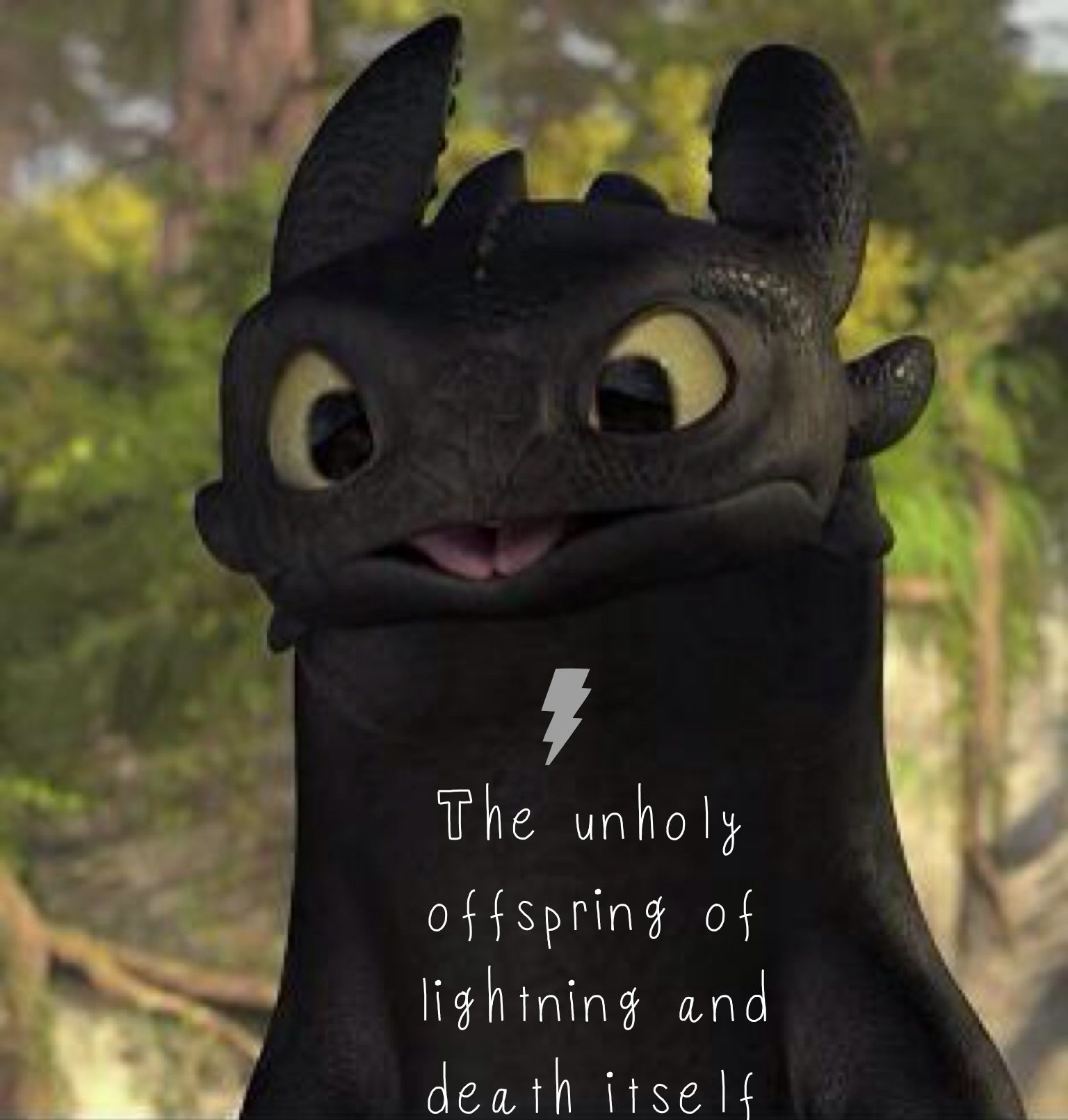 The unholy offspring of lightning and death itself toothless how the unholy offspring of lightning and death itself toothless how to train your dragon ccuart Gallery