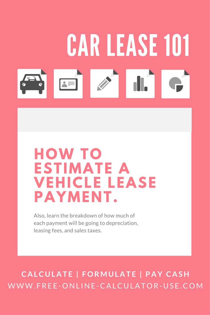 Auto Lease Calculator >> Automobile Lease Calculator To Calculate Car Lease Payment
