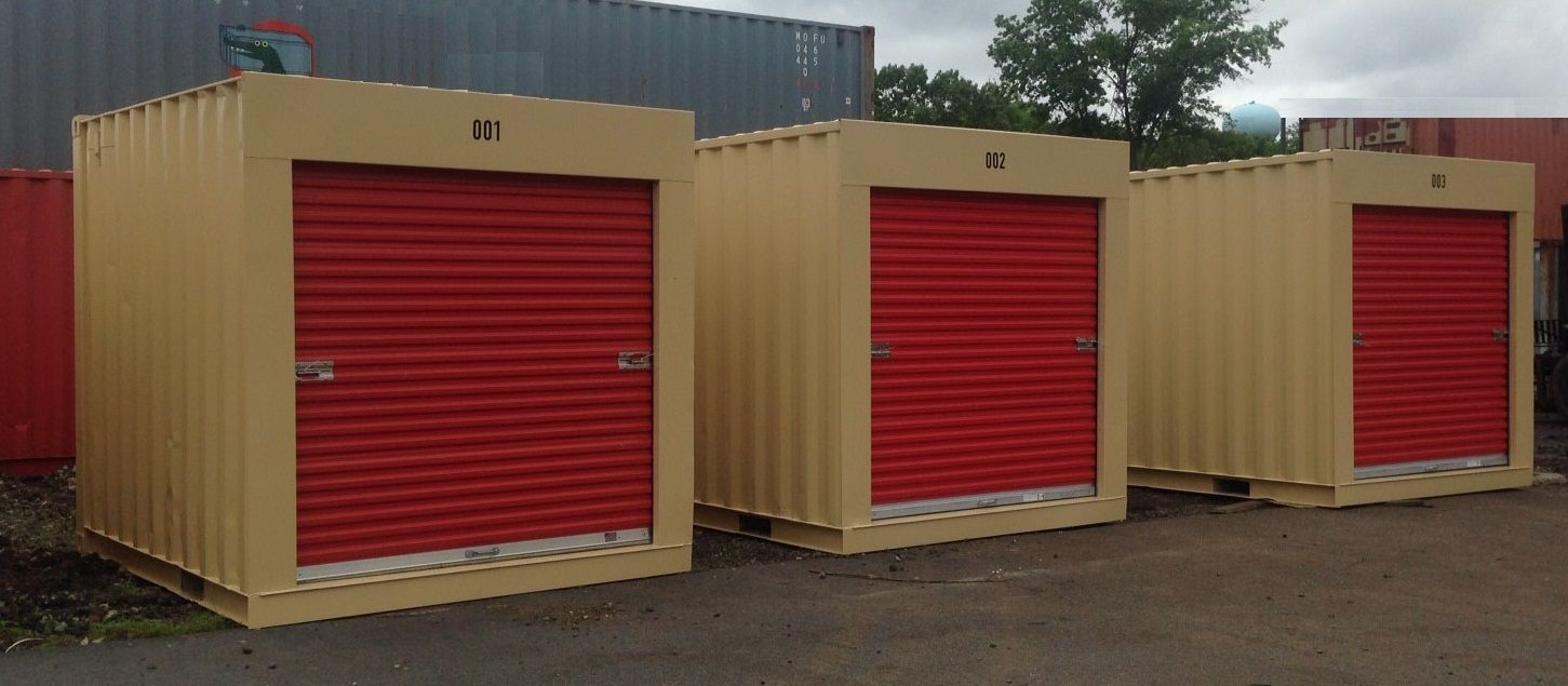 10 Foot Storage And Shipping Containers Chassisking Com Shipping Container Sheds Shipping Container Freight Container