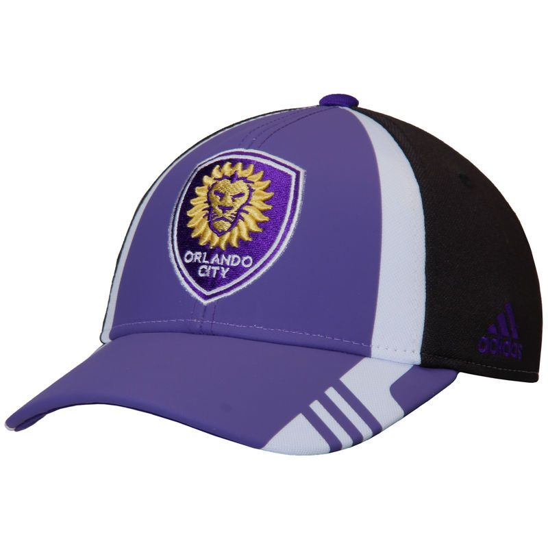 d4df34a9e17 Orlando City SC adidas Authentic Team Structured Adjustable Hat - Purple