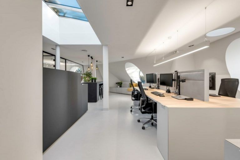Eqt An Office Villa Of Private Equity Firm With New Interior