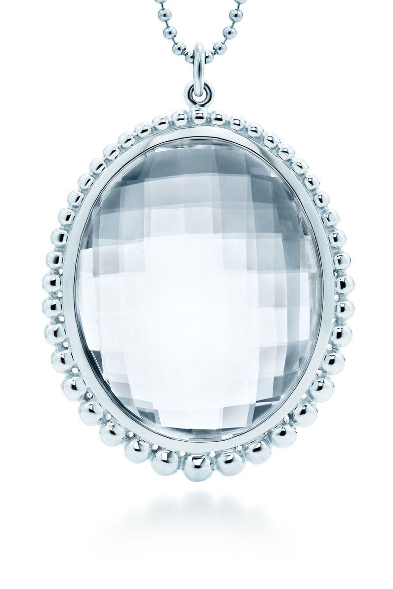 Tiffany Amp Co Ziegfeld Collection Oval Pendant Of Rock
