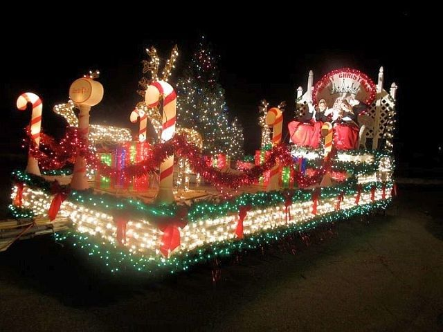 Christmas Float Ideas With Lights.Pin On Parade Float