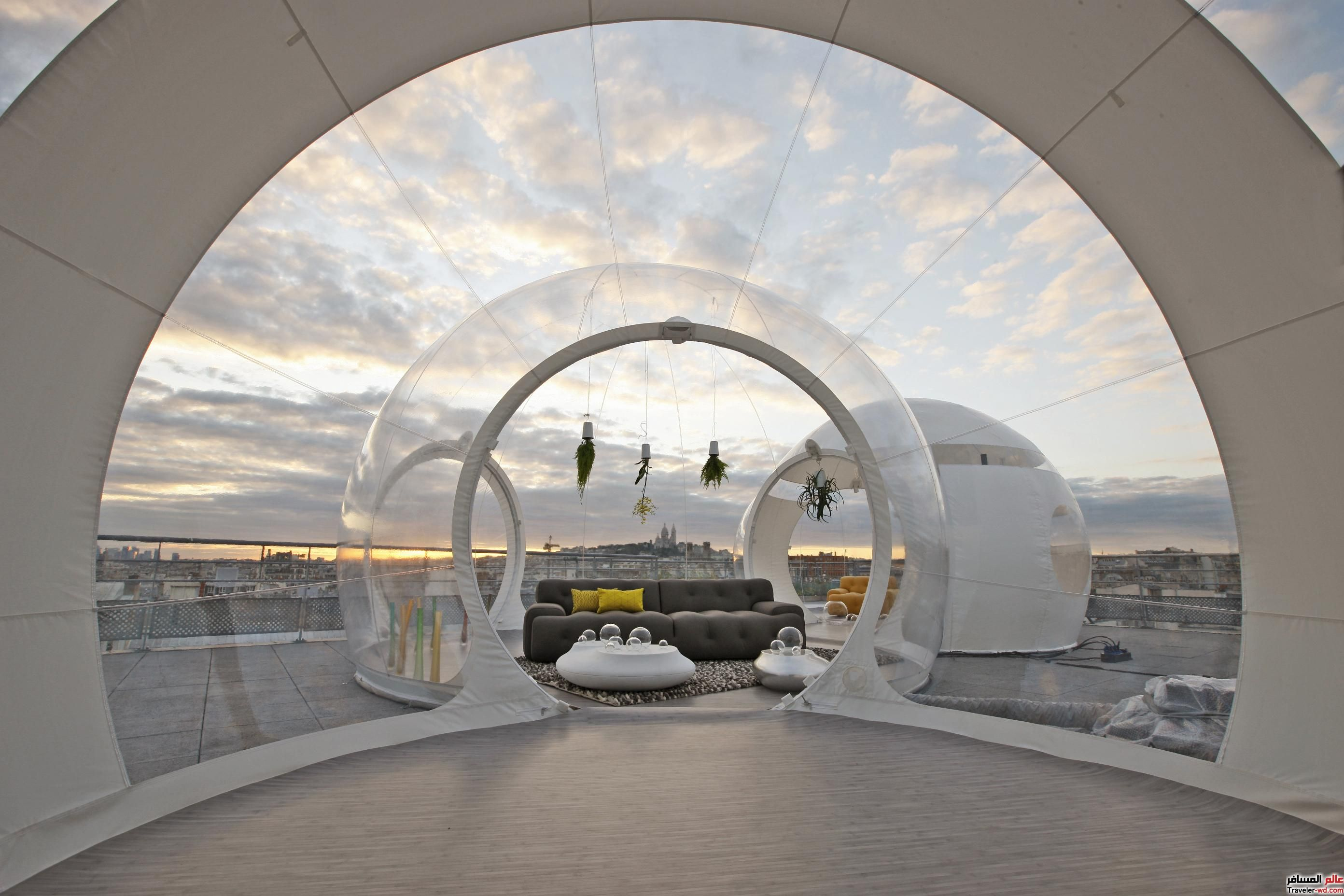Inflatable Bubble House is the Perfect Escape & Inflatable Bubble House is the Perfect Escape | Architecture