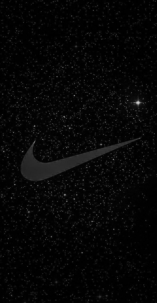 Nike Black Stars Nike Wallpaper Nike Wallpaper Iphone Nike Logo Wallpapers