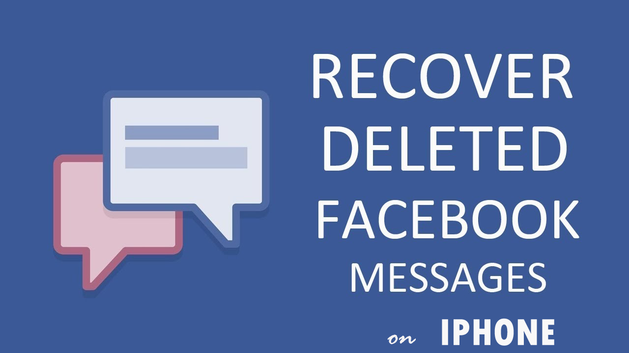 Many times user lose their important facebook messenger messages and they don't know how to recover those. Here you will get complete guide of how to restore those messages.