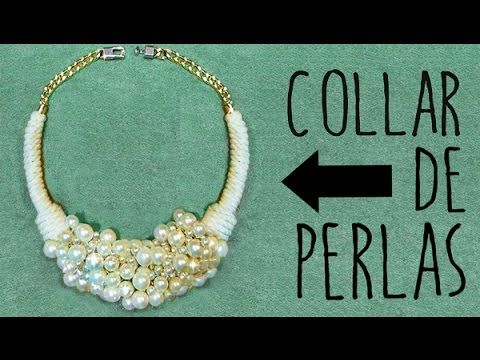 dd95beee0b93 ✂ DIY collar de perlas fácil paso a paso  Nerea Iglesias. - YouTube ...