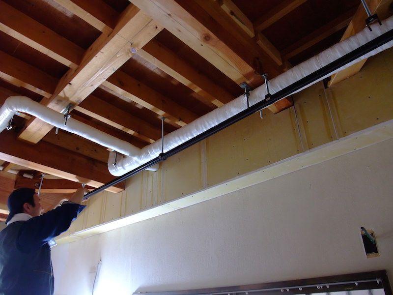 ライティングレール取り付けを電気工事士に委託 自分で電材を調達する ライティングレール 電気工事 ライティング