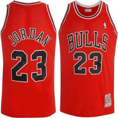 huge selection of e284e 2628f Mitchell   Ness Chicago Bulls Michael Jordan 1997-98 Authentic Road Jersey