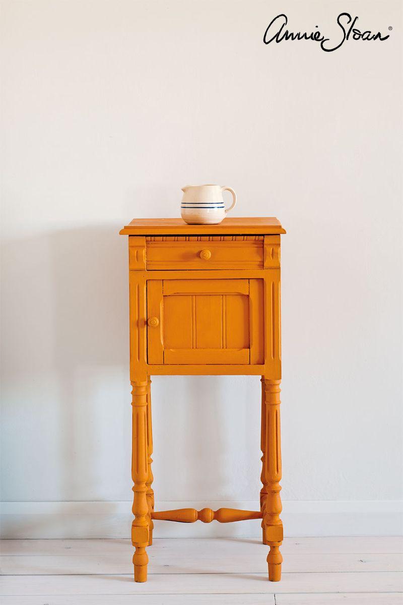Barcelona Orange Chalk Paint By Annie Sloan Pintura A La Tiza Muebles De Color Naranja Pintura A La Tiza Muebles De Pintura De Tiza