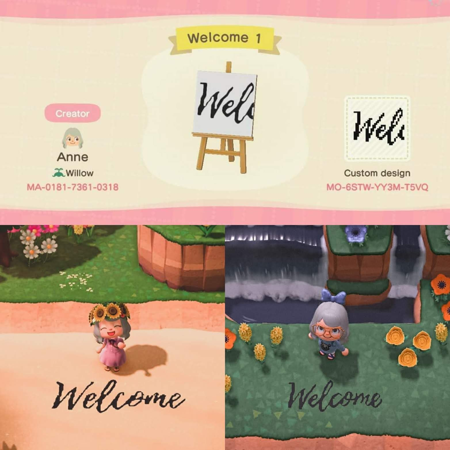 Acnh designs on twitter in 2020 animal crossing game