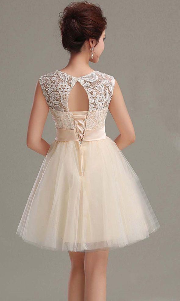 Beige prom dress tumblr 2016-2017 » B2B Fashion   Fashion 2017 ...
