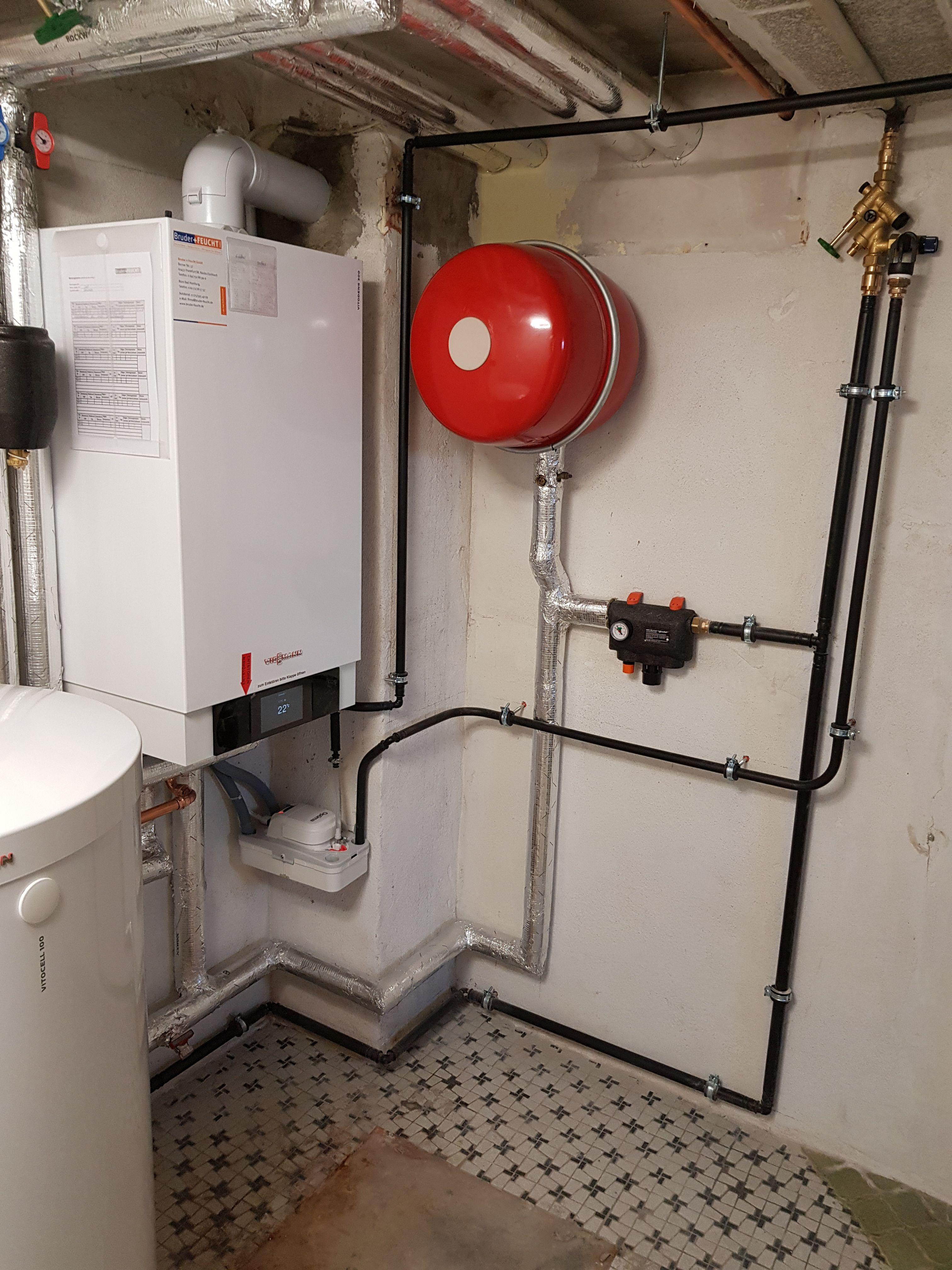 Heizungsanlage New Viessmann Vitodens Energie Effizienz Enev Gasbrennwert Bruderundfeuchtgmbh Handwerk Heizungstechnik Heizungsanlagen Energie Sparen