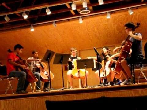 Cantique de Jean Racine - Cello Choir