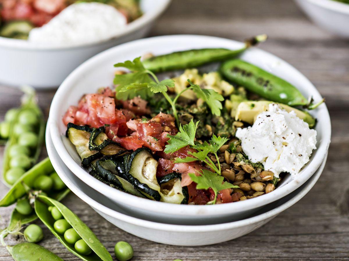 Resepti: Super bowl ja labneh