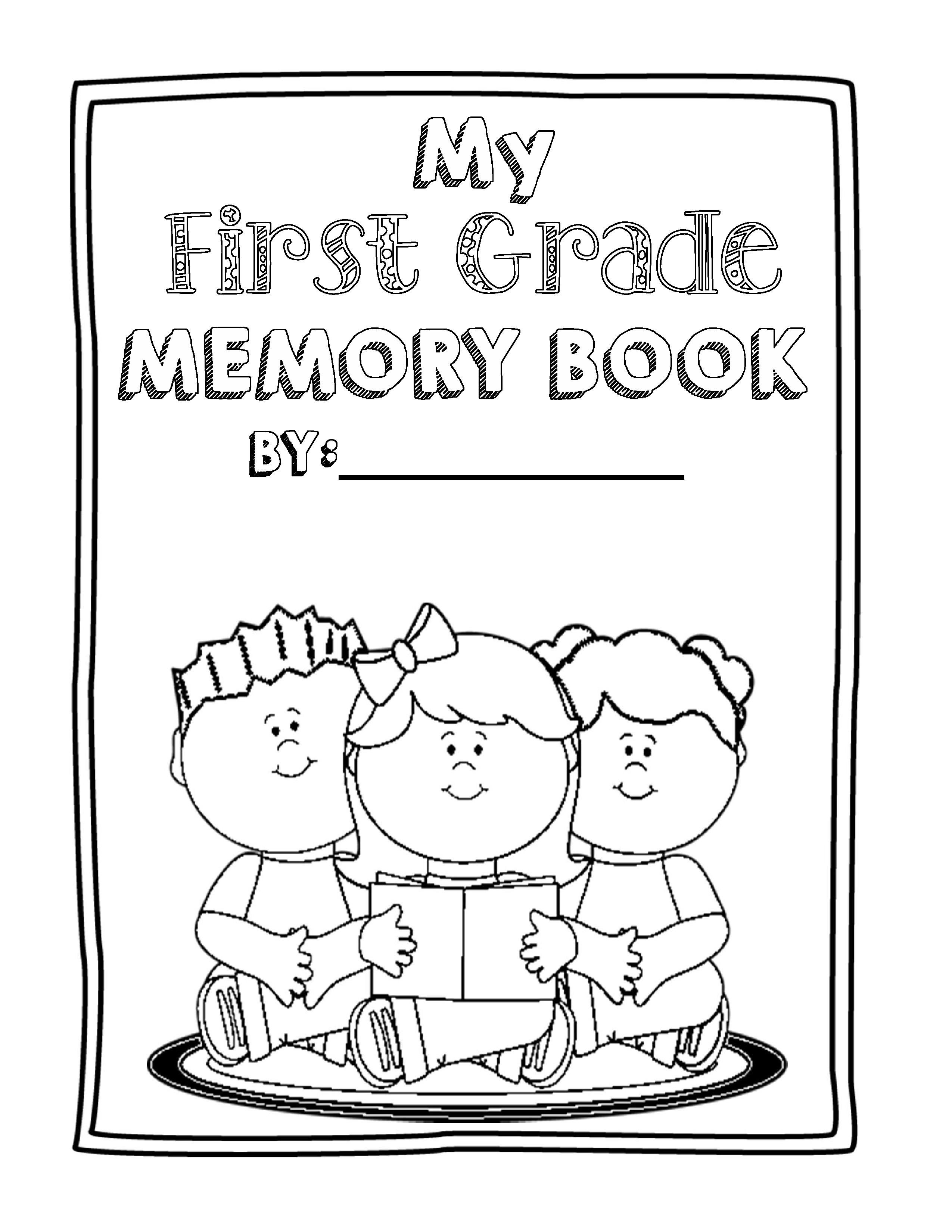 End Of Year Memory Book Bundle Prek To 8th Grade With