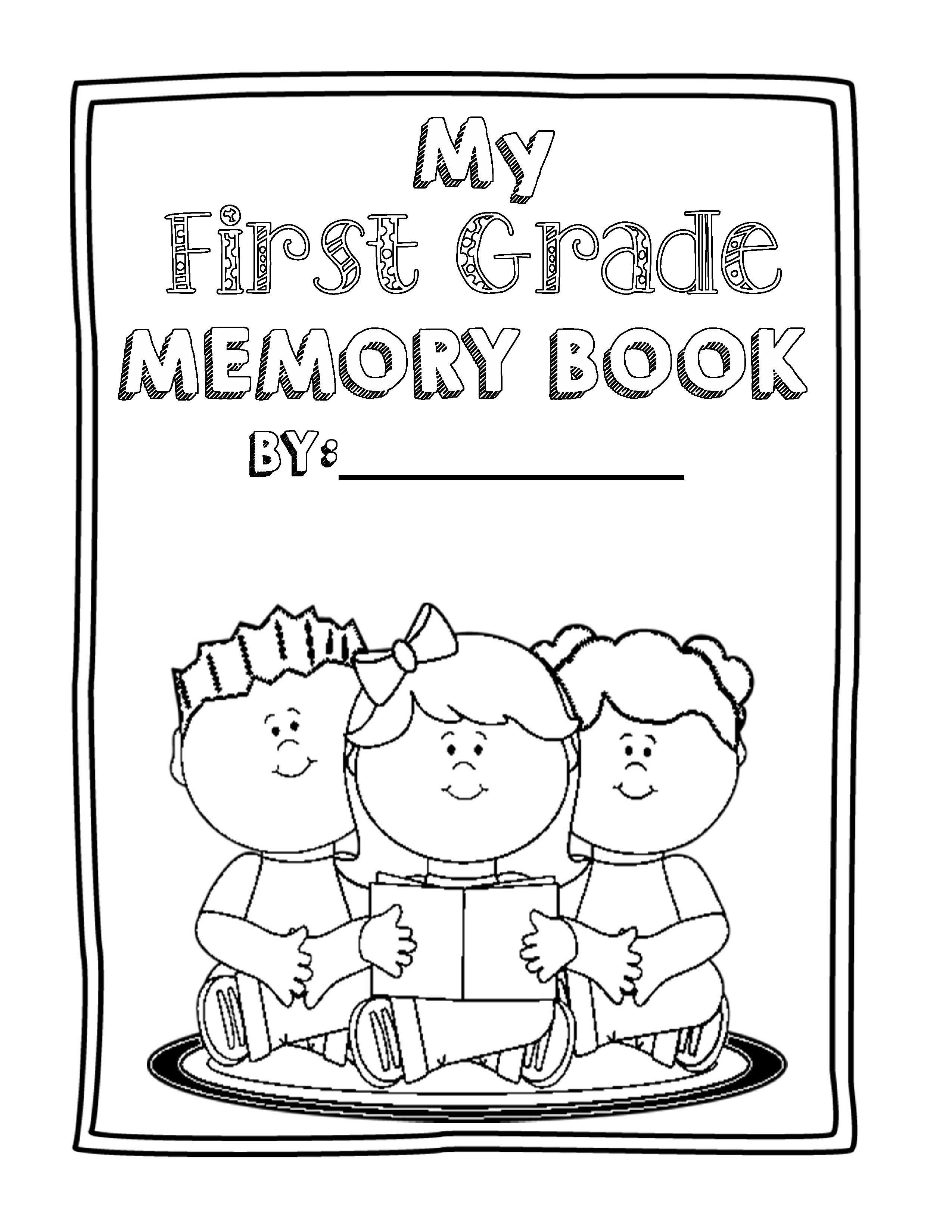 End Of Year Memory Book Bundle Prek To 8th Grade