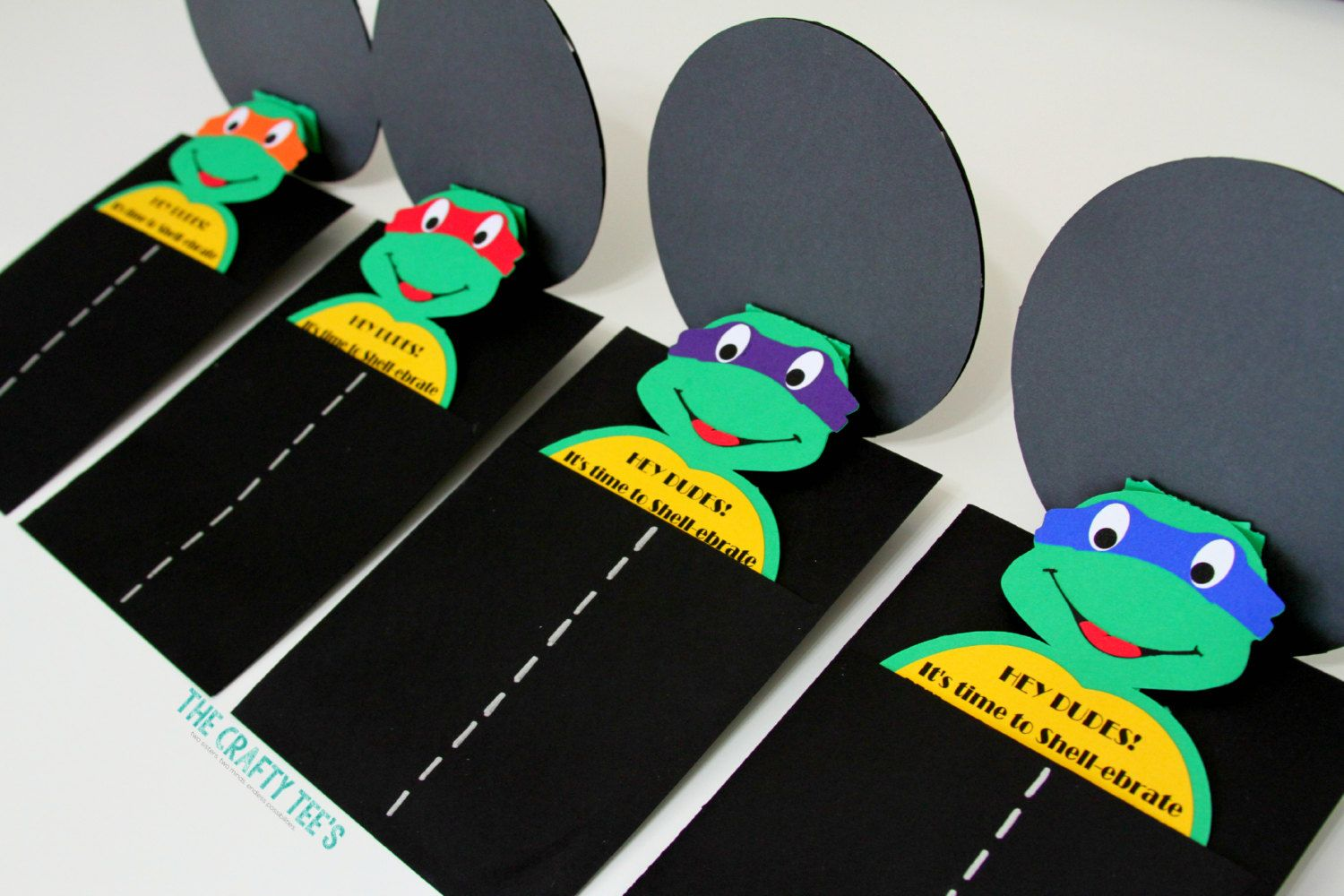 Teenage Mutant Ninja Turtles Invitations Tmnt Invitations