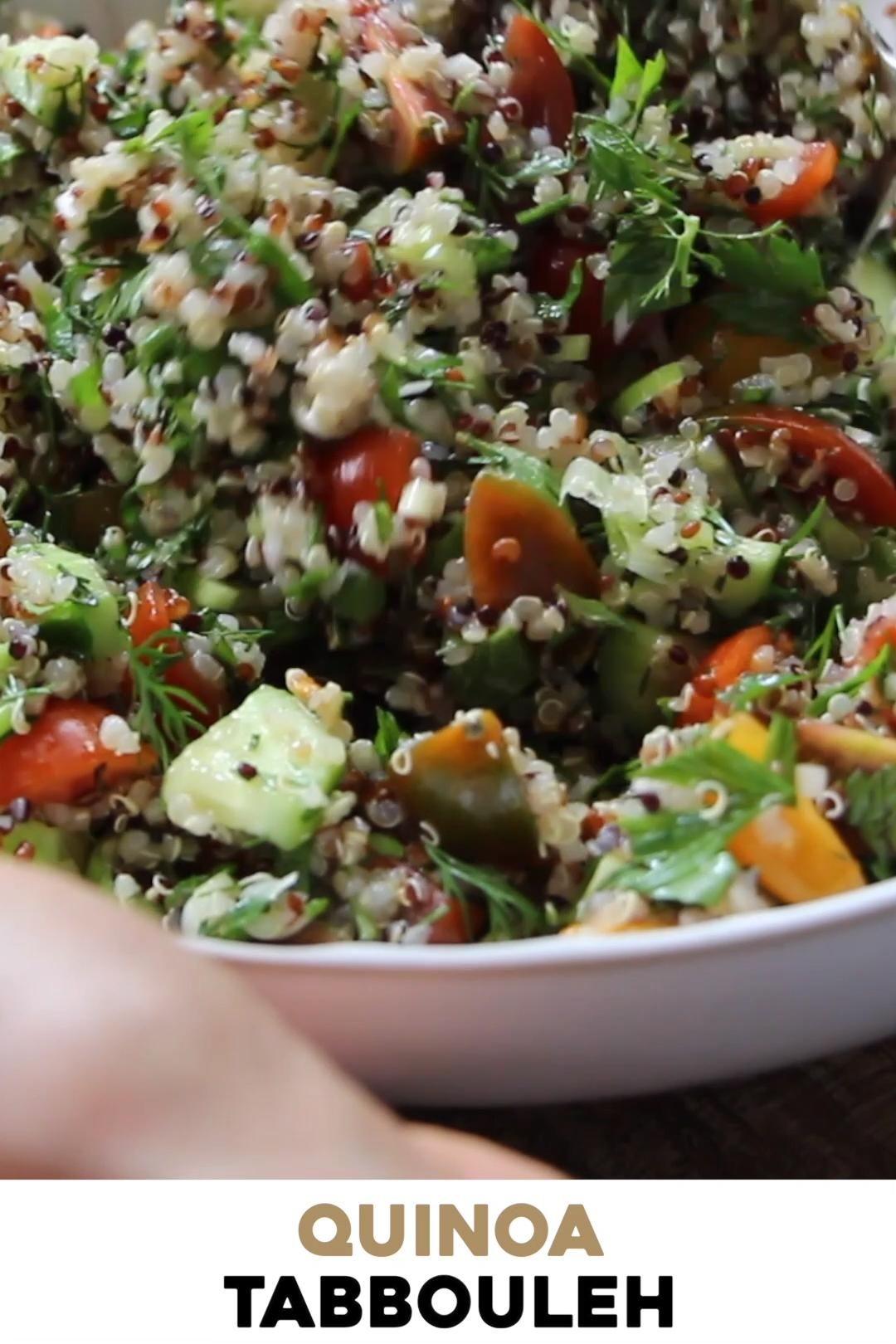 Photo of Quinoa Tabbouleh Salad