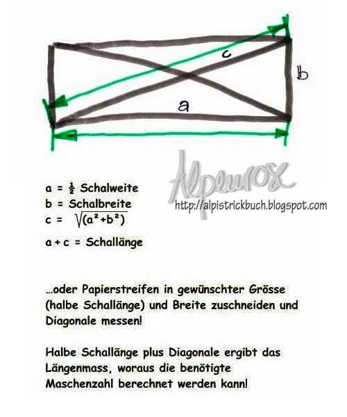 alpis strickbuch m bius berechnen und stricken na. Black Bedroom Furniture Sets. Home Design Ideas