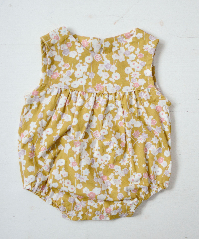 Den sødeste baby romper | Babykleidung, Nähen für kinder und für Kinder
