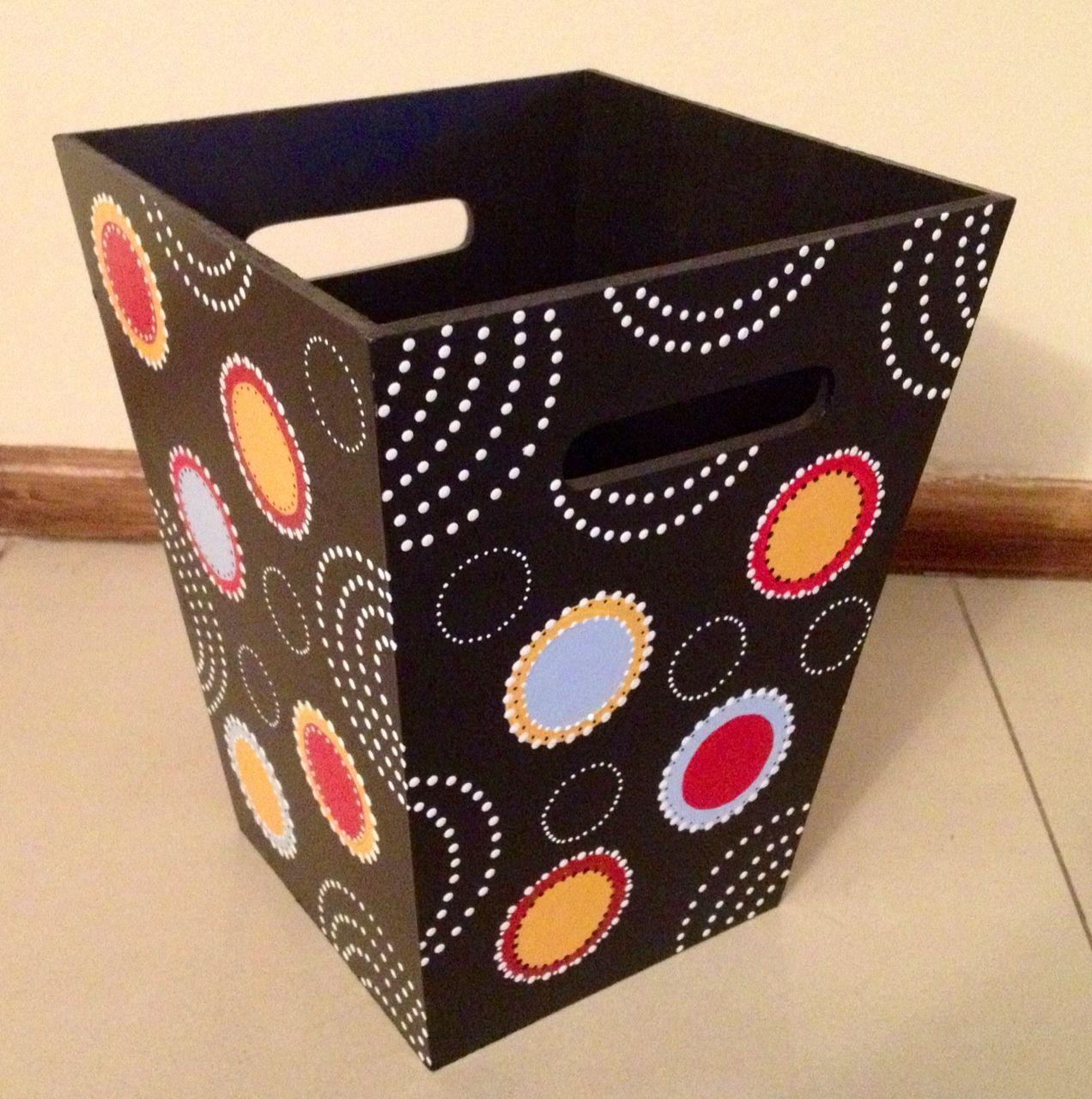 Pintura Decorativa En Madera Buscar Con Google Pintura Sobre  ~ Cajas De Carton Decorativas Grandes