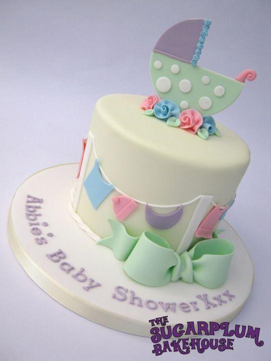 Unisex Neutral Baby Shower Cake Baby Shower Cake Decorations