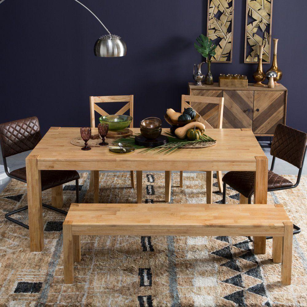Belham living harrison farmhouse natural dining table