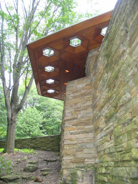 The Skylights at Kentuck Knob in Pennsylvania.  Another Frank Lloyd Wright great.