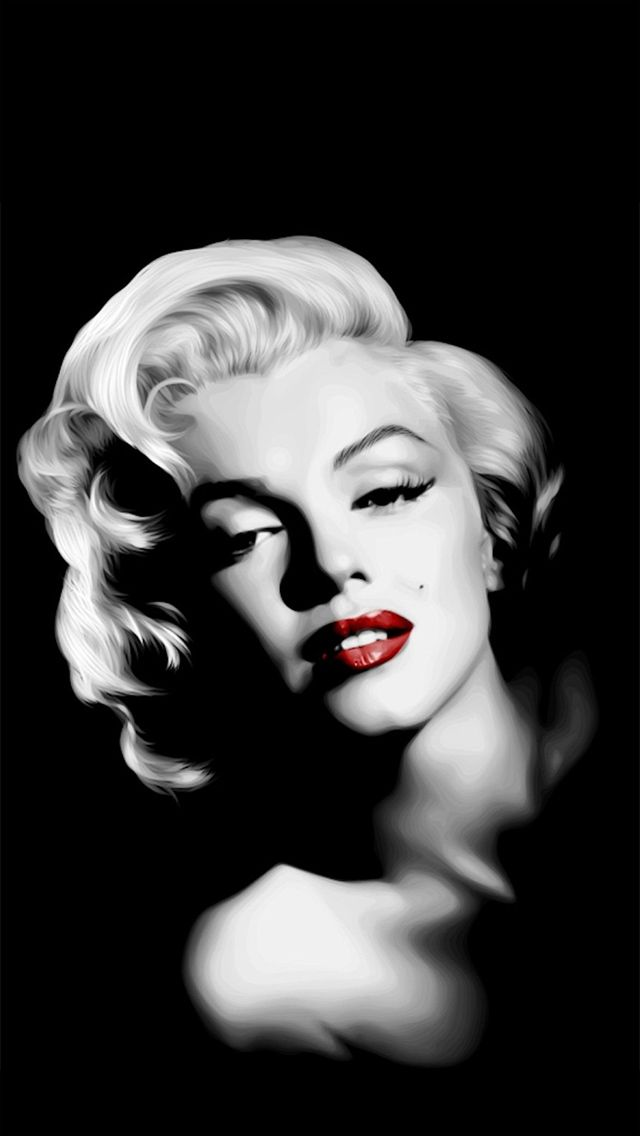 iPhone 5 Wallpaper Marilyn Monroe http://iphonetokok-infinity.hu ...