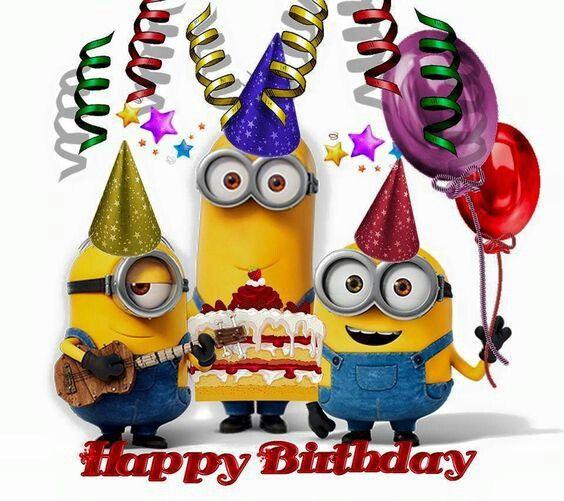 Happy Birthday Minions Birthday Pinterest Happy Birthday