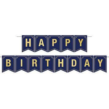 foil happy birthday streamer in 2018 products pinterest