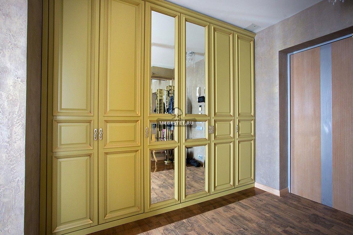 шкафы с дверцами фото впишется ванильный