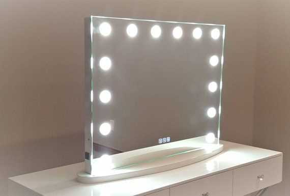 Xl Hollywood Impulse Led Lighted Vanity Mirror W Touch