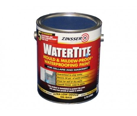 Zinsser Watertite Paint 5ltr Mold And Mildew Painting Portland Cement