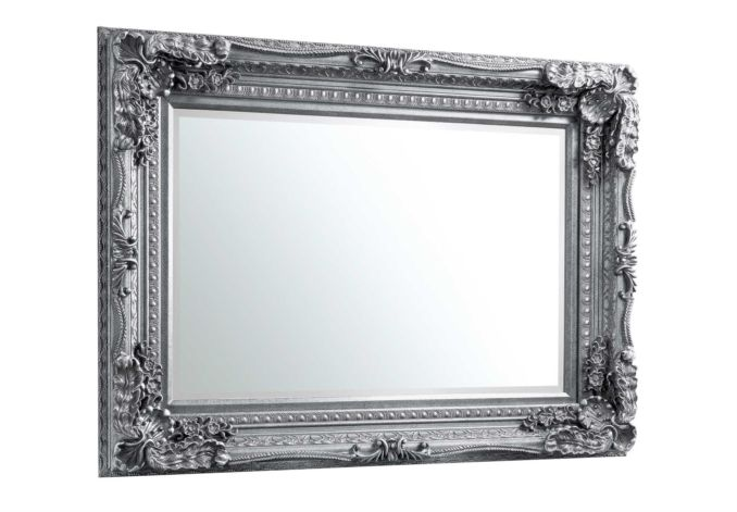 Carved Louis Silver - Mirrors - Living Room Storage, Cabinet & Bookcases – Furniture Village