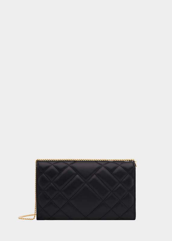 8562dc50df Quilted Medusa Evening Bag - Black Shoulder Bags