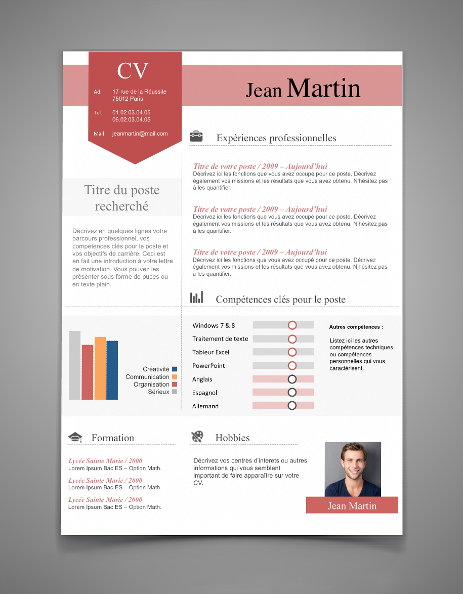 Resume Les | Exemple De Cv Design Cv 28 Maxi Cv Resume Pinterest