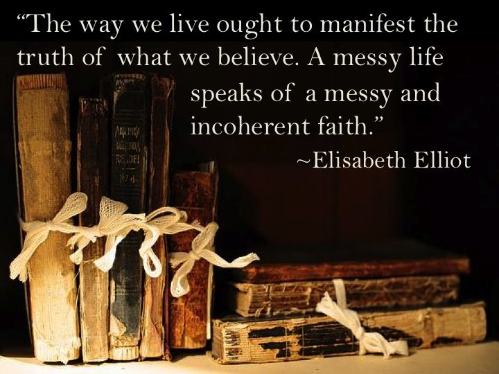"""Truth From Elisabeth Elliot's """"Let Me Be A Woman"""""""