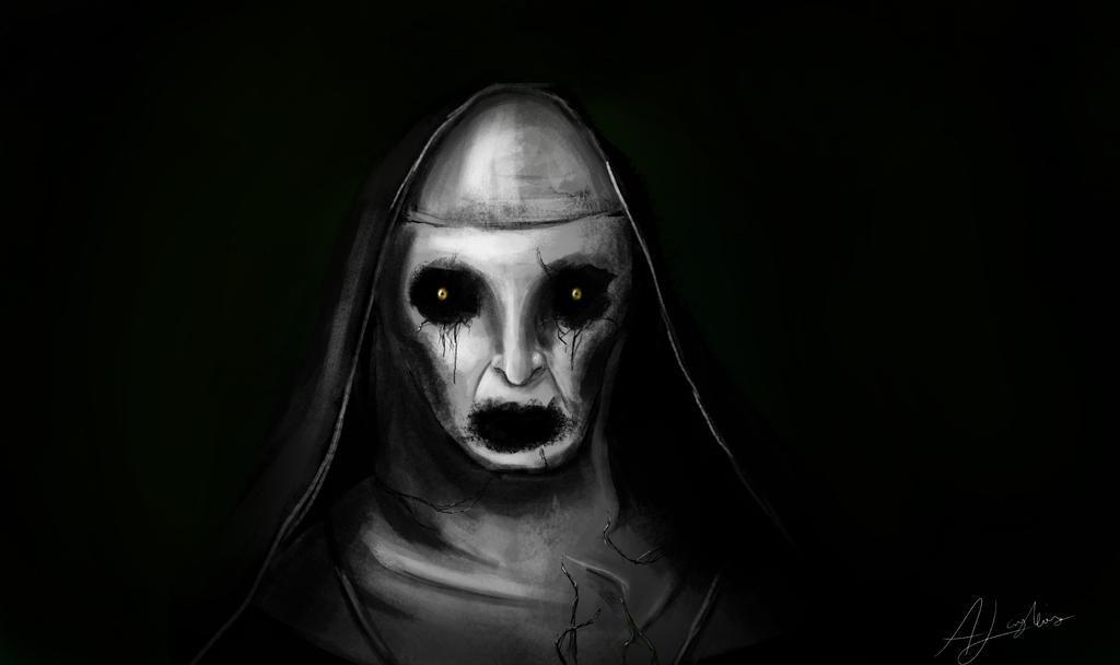 Pin By L A L O U I S E On Scary Nun Makeup Costumes Valak