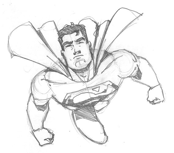 easy superman drawings sketches superman quick sketch by nose in Slow and Easy Quick and Easy easy superman drawings sketches superman quick sketch by superman drawing superman art batman