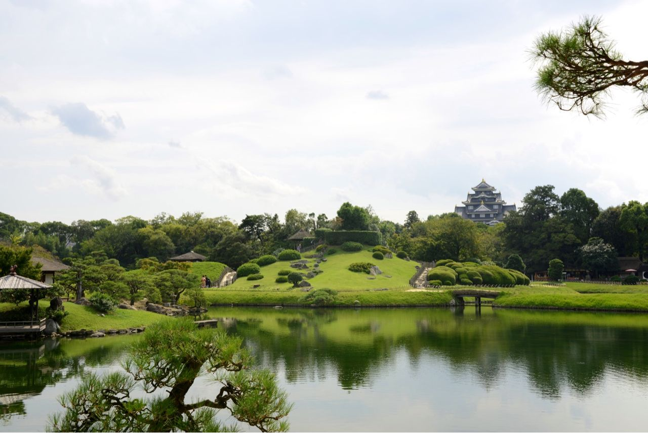 Japan, Okayama Gardens