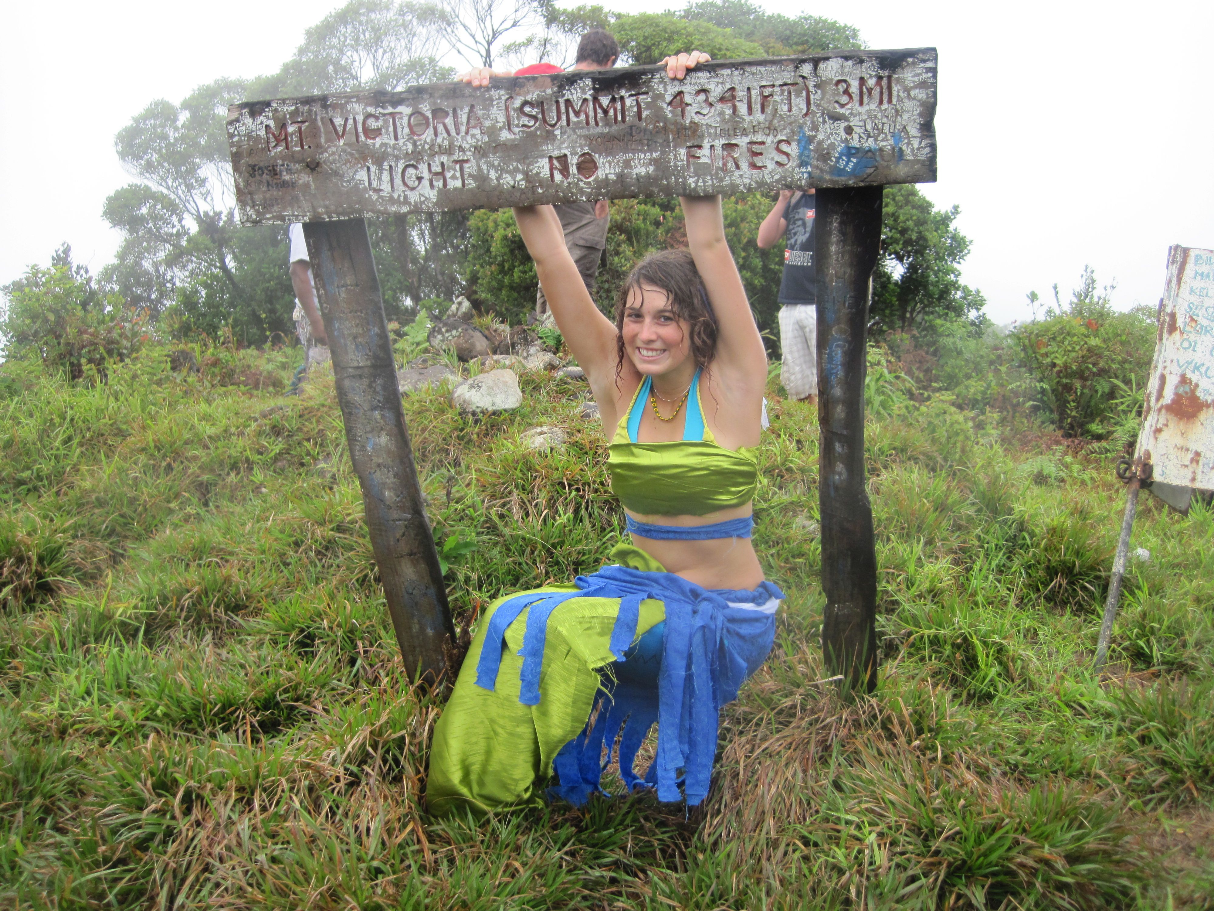 Hiking the Highest Mountain in Fiji (and turning into a mermaid).
