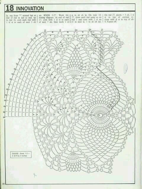 Pin by liliana zambon on centrini 1 pinterest crochet doily diagram filet crochet crochet doilies crochet magazine crochet ideas crochet patterns free pattern dont speak filo ccuart Gallery