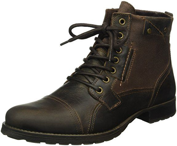 Coup De Pied Chaussures - Chaussures Homme Avec Lacets, Brun, Taille Eu 45